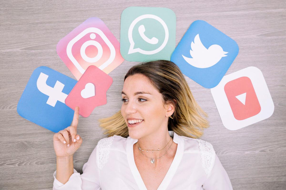 gestión redes sociales social media